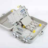 Outdoor Corridor FTTH Terminal Box 32 Cores LGX Cassete PLC Splitter Fiber Optic Distribution Box Fiber Optic Termination Box