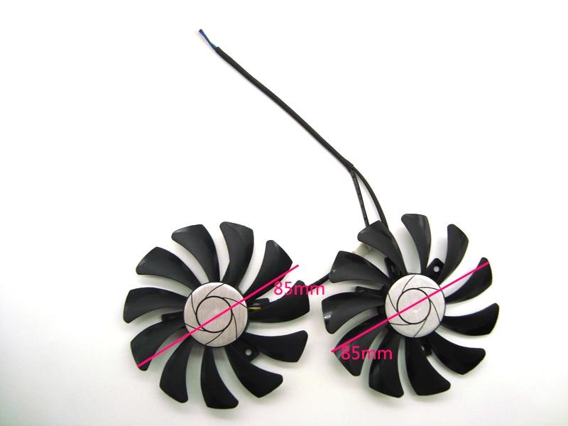 HA9010H12F-Z GTX 1070/1060 GPU tarjeta ventilador de refrigeración para MSI GeForce GTX1060 GTX1070 MINI tarjeta gráfica de refrigeración