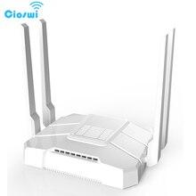 WE1326 BKC 2.4g/5g roteador wi fi com slot para cartão sim ac1200mbps banda dupla openwrt 512 mb 4 * 5dbi antena externa soho gigabit roteador