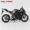 Maisto original nuevos niños mini yamaha supercross yzf r1 de metal mueren modelos de yeso moto moto de carreras de coche de aleación de metal juguetes