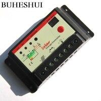 Buheshui 솔라 패널 전원 배터리 충전 컨트롤러 솔라 레귤레이터 12 v/24 v 30 amp 솔라 패널 chaeger 시스템