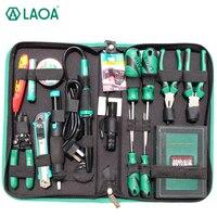 LAOA 53PCS Electric Soldering Iron Repair Tool Set Screwdriver Utility Knife Pliers Handle Tools For Repairing