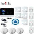 SmartYIBA сигнализация системы безопасности дома жилой сигнализации 2G SIM GSM сигнализация смартфон приложение дистанционное управление SMS опове...