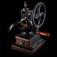 Wooden Manual Coffee Grinder Ceramic Core Cafe Grain Spice Mill Hand Coffee Grinder Coffe Machine Kitchen Tools