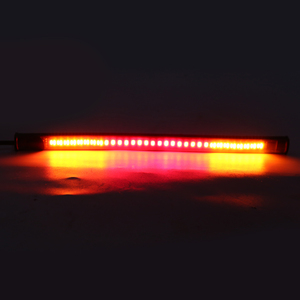Image 4 - 1PC 3 In 1 Flexible 48 LED SMD PVC Rubber Strip Motorcycle Car Tail Turn Signal Brake Stop Light 12V For ATV Moped Scooter