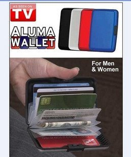 As seen on TV Card holder, credit card package, the material of the credit card tray, card packs, wallets, white boxed Lu-
