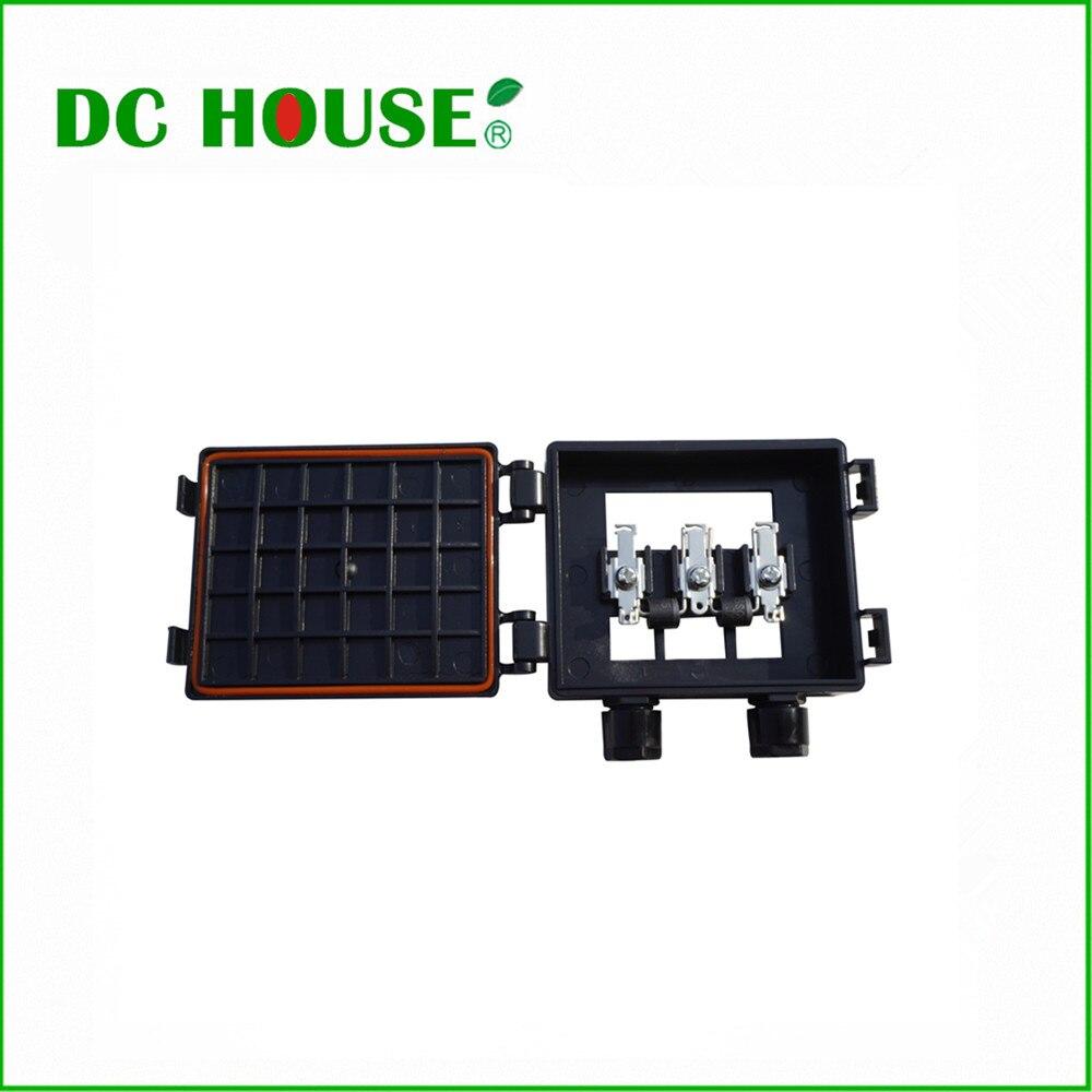 dc house solar waterproof junction box solar panel. Black Bedroom Furniture Sets. Home Design Ideas