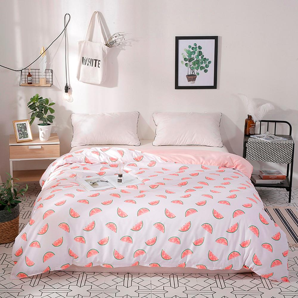 Комплект постельного белья из четырех предметов, пододеяльник, наволочка Dream Star, полный размер, одеяло, Комплект постельного белья s 200x230 см,