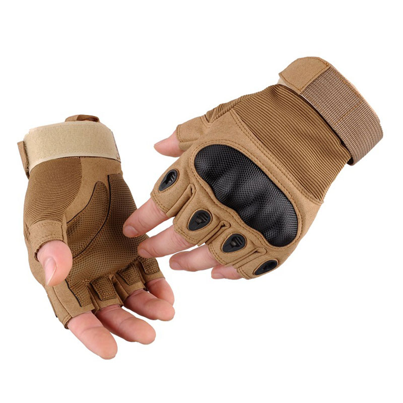 Tactical Gloves Men Army Military Special Forces Paintball Gear Combat Outdoor Sports An ...