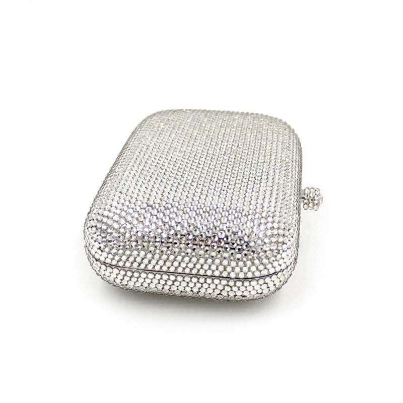 Solide Femme e0318 Diamant Smyzh Soirée Glitter Main Femmes Mode Mariage Bags Sac Sacs À Design Petit Embrayage De wxYqaCCH