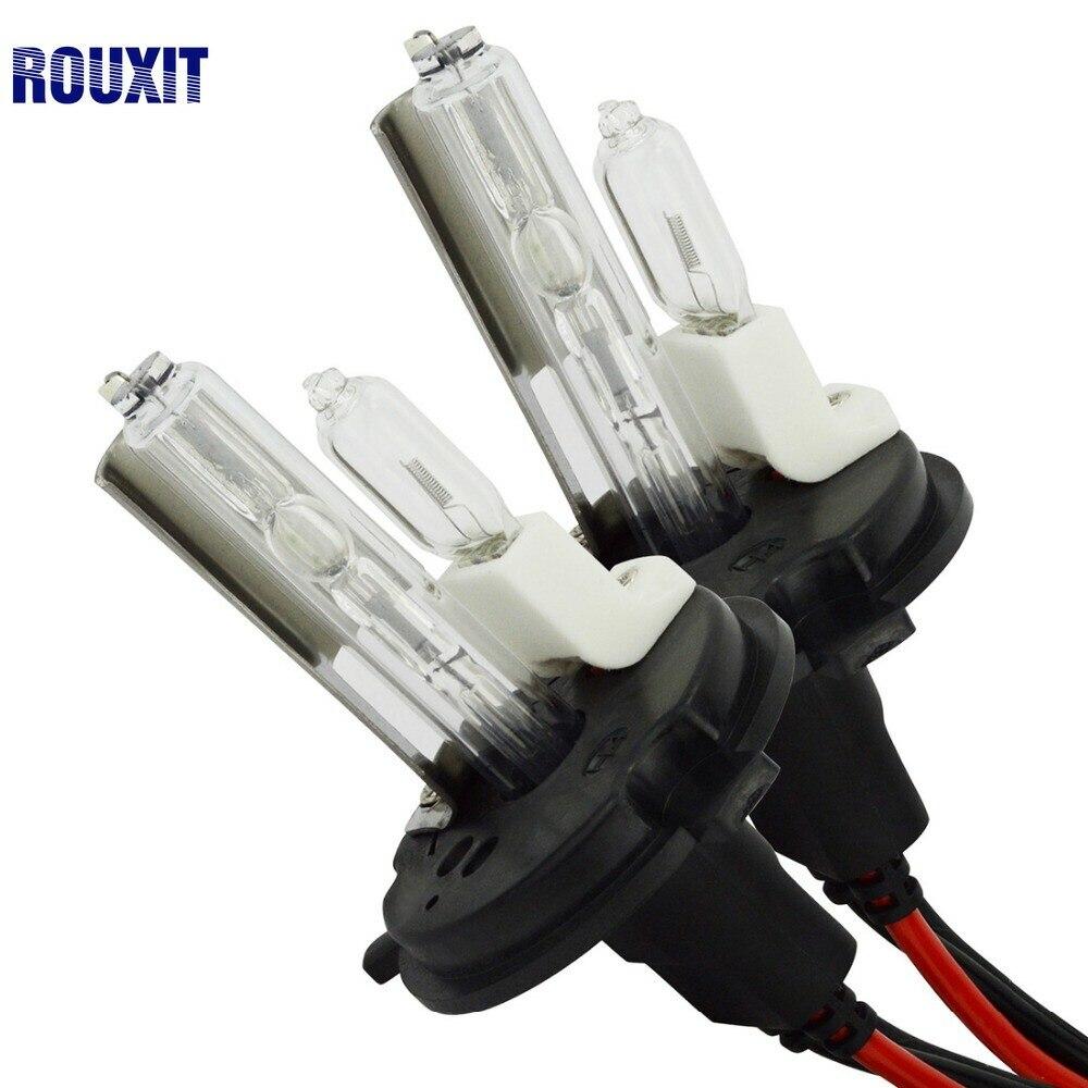 DC 12 V hid xenon h4 xénon ampoules halogène lumière H4 9004 9007 H13 haute basse salut Lo lampe 35 W voiture phare 4300 K 6000 k 8000 k 10000 k