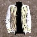 Европа и соединенные Штаты Хан звезда звезда этап костюм ночной бар бар мужская одежда костюм do242