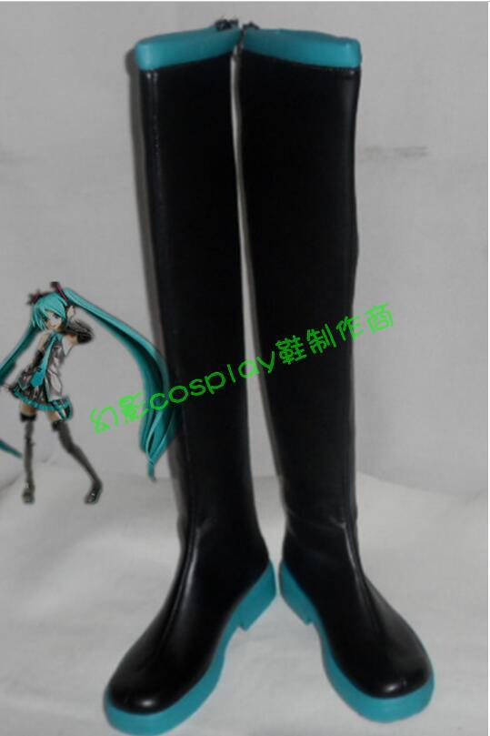 Chaussures vocaloïdes Hatsune Miku cosplay