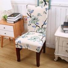 Patrón de Flores tradicionales Vintage hogar silla cubre 14 colores LICRA silla fundas para boda Festival housse de chaise