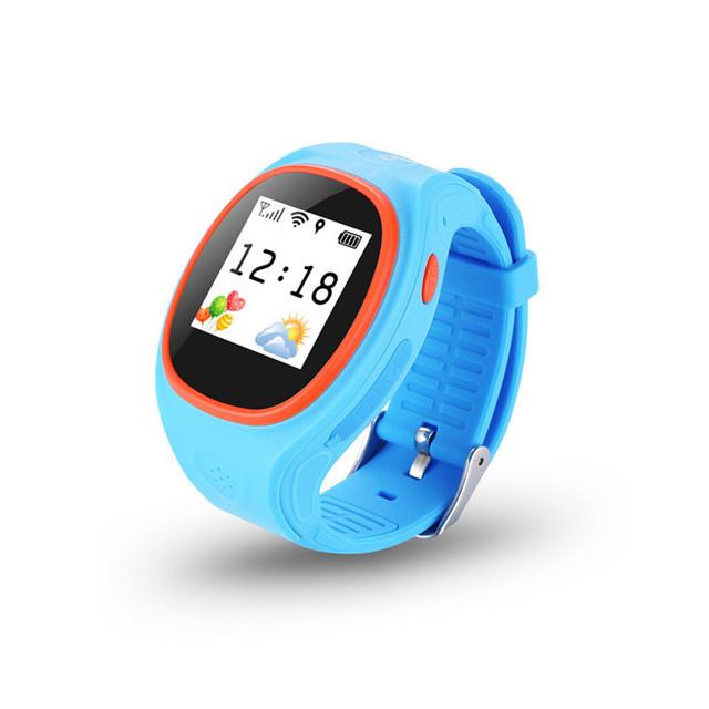 Smart watch crianças security essentials anti-perdido gps tracker relógio s6 para crianças sos chamada de emergência para ios & android smartwatch