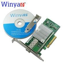 Winyao WY599F1 10Gbps SFP LC Fibre PCIe 8x Ethernet Server Adapter with SFP E10G41BTDA X520 DA1