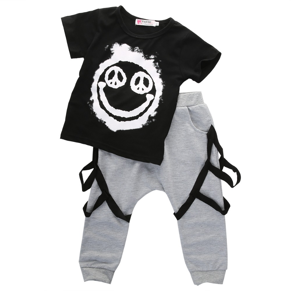 Retail Children's suit 2018 new boys Clothing Set Kids fashion clothes Sports suit boy set eaboutique new winter boys clothes sports suit fashion letter print cotton baby boy clothing set kids tracksuit