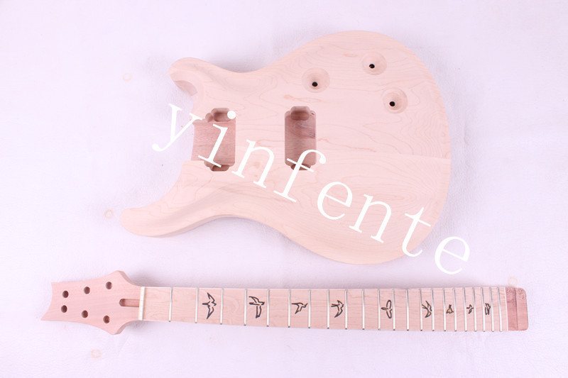 NEW high quality Unfinished electric guitar body + GUITAR neck 007# цена и фото