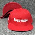 Superme Novo Chapéu de Verão boné de Beisebol Homem Do Chapéu de Aba Larga hip-Hop Hip Hop Chapéus Plana Maré Bboy Cap Chapéu