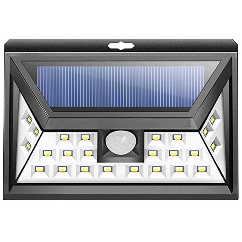 f8099739d6f0 Waterproof Garden Solar Led Lamp IP65 Solar Light 24 LED PIR Motion Outdoor  Sensor