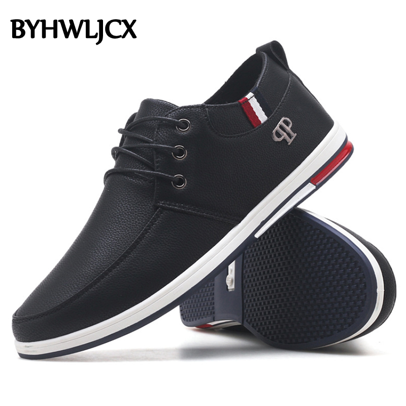 2019 Spring And Summer Hot Sale Men's Shoes Fashion High Quality PU Flat Casual Sneakers Man British Style Loafers Men