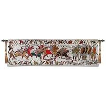 באייה גובלן מימי הביניים אירופאי תרבות שטיחי בריטי סגנון 45x138cm