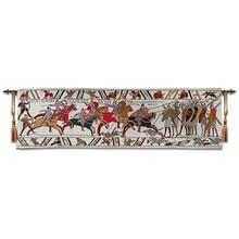 Bayeux goblen ortaçağ avrupa kültür halılar İngiliz tarzı 45x138cm
