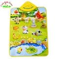 Christmas Gift Promotion Price 60*40CM Cute Musical Farm Baby Play Mat Musical Carpet Baby Developmental Crawling Mat MM001