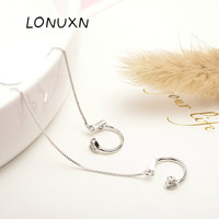 high quality Korean version fashion Wild 925 silver personality Hear earring birthday present Girls sweet jewelry Accessories
