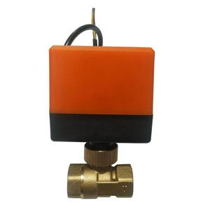 Image 3 - Electric Ball Valve AC220V DN15 50 3 wire 2 way Control Brass Thread Electric Ball Valve stable Motorized Ball Valve