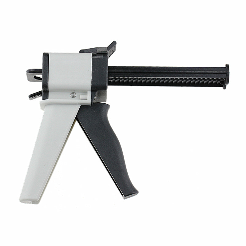 Dentaludstyr Impression Mixing Dispenser Dispensing Gun AB Gun 1: 1/2: 1 Caulking 50ml Tandlæge Produkter Gratis Levering