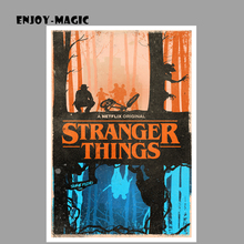 Stranger Things Season 2 Poster Painting Wall Art Modern Home Decor Canvas Picture Retro Panel Print Unframed