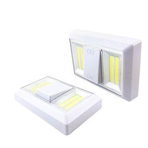 Image 1 - 磁気超高輝度ミニcob ledウォールライトスイッチ夜の光ワイヤレスのために運営ガレージ寝室のクローゼット2018