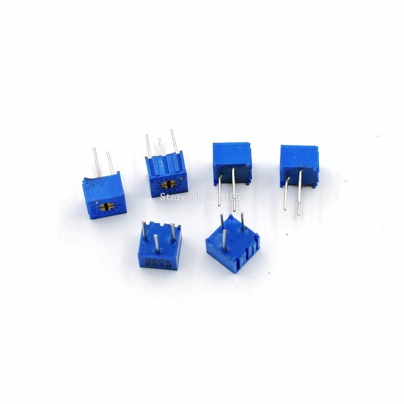 20PCS/LOT 3362P-1-103LF 3362P 103 10K Ohm 10KR Trimpot Trimmer Potentiometer Variable Potentiometers 3362 New