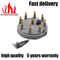 Car Performance Parts Ignition Distributor Cap And Rotor Kit For Ford 93 97 V8 Free Shipping