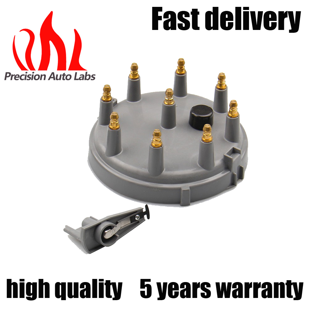 PRECISION AUTO LABS Car Performance Parts Ignition Distributor Cap and Rotor Kit for Ford 93-97 V8 for 8234