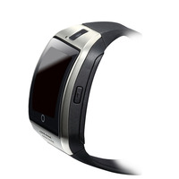 Q18 Smart Watch Touch Curved Screen With Camera FM Fitness Sleep Health Tracker SMS MP3 Bluetooth