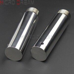 Image 5 - 1 Chrome Xe Máy Dĩa Ống Risers 5 Inch Nối Dài Cho Harley Dyna Glide FXD Sportster XL1200 XL883 39 Mm dĩa Ống