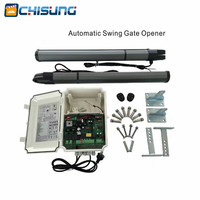 Electronic automatic High Quality Dual Arm 2m Swing Gate Opener Motor max weight 200kg with extra remote control available