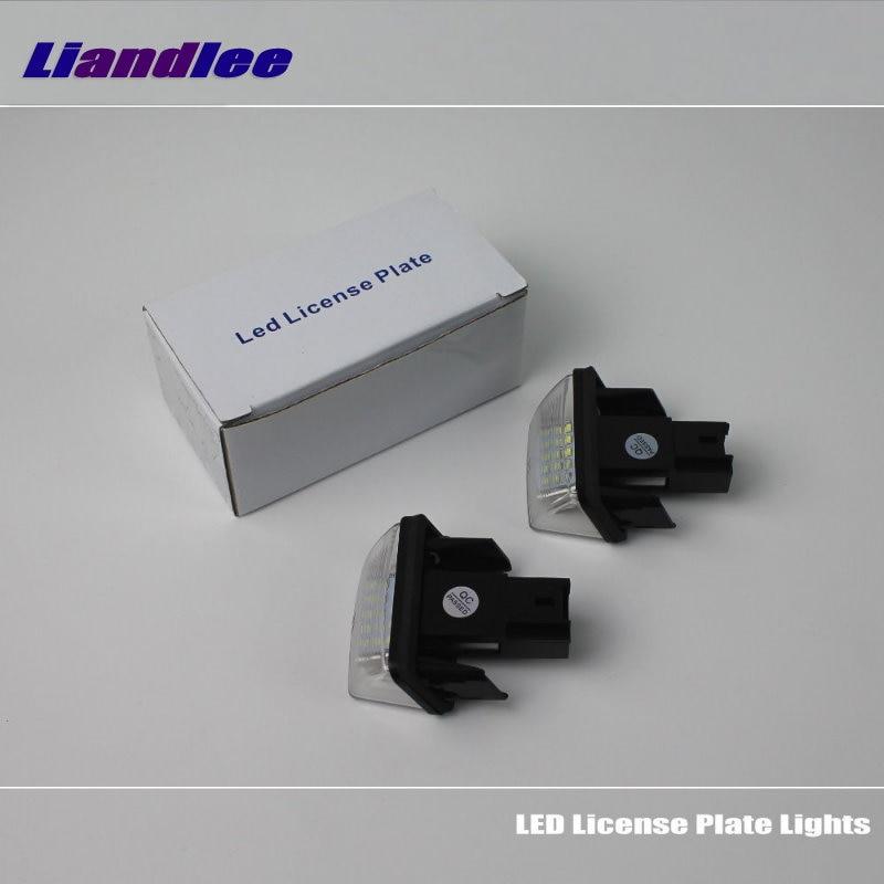 Liandlee For Citroen SAXO XSARA XSARA II Picasso / LED Car License Plate Light / Number Frame Lamp / High Quality LED Lights for citroen c6 td