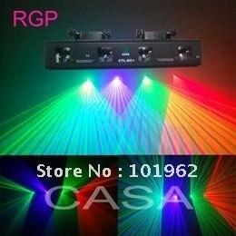 4 obiektyw 230 mw 3 mieszane kolor RGP laserowe sprzęt dj szybka wysyłka gorąca sprzedaż