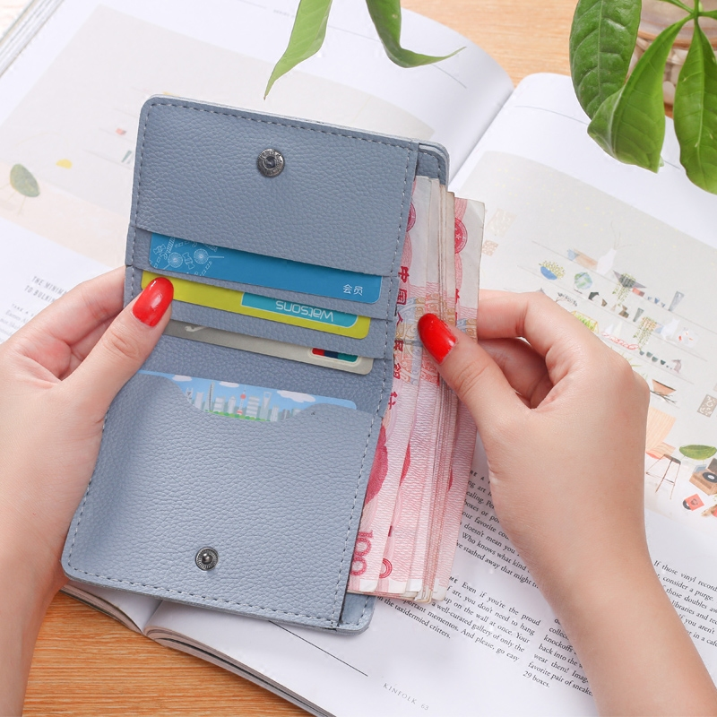 Wallet Lovely Clutch Embroidery mini Clutch Thin Travel lady's card Rfid Wallets Coin puses Wallet Carteras portefeuille Bolsa 6