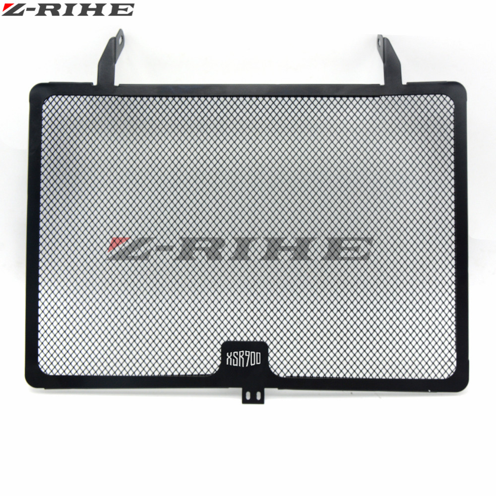 Motorcycle Radiator Guard Protector Grille Grill Cover Stainless Steel Radiator Grill Cover For Yamaha XSR900 XSR 900 2016-2017 arashi motorcycle parts radiator grille protective cover grill guard protector for 2003 2004 2005 2006 honda cbr600rr cbr 600 rr