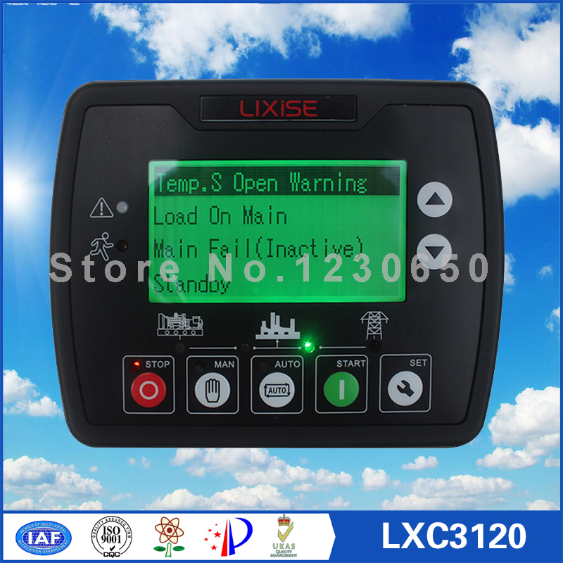LXC3120 Diesel engine generator controller Completely replaced dse4520 diesel generator auto start control free shipping dse7310 generator controller auto start control module suit for any diesel generator