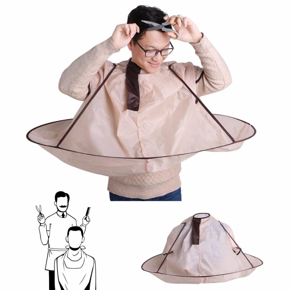 Foldable Hair Cutting Cloak Umbrella Cape Salon Barber For Adult Hair Styling