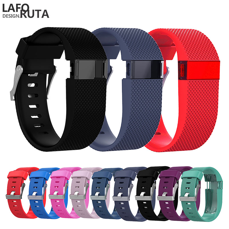Laforuta For Fitbit Charge HR Band Silicone Fitness Strap Women Men Sport Bracelet for Fitbit Charge HR Activity Tracker Loop in Watchbands from Watches