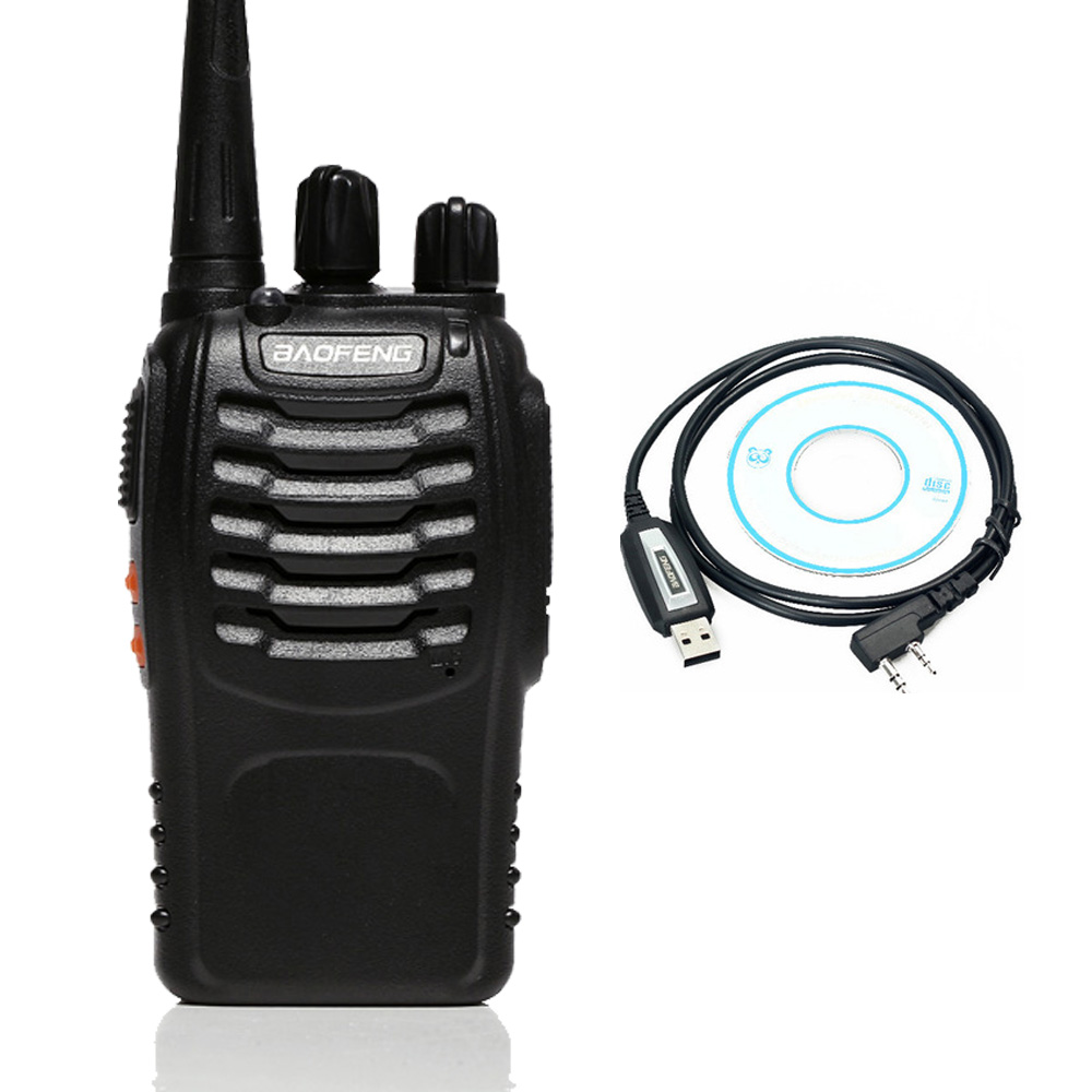 Portable Baofeng bf 888s USB Programming Two Way Radio Walkie Talkie For UHF Band Ham CB