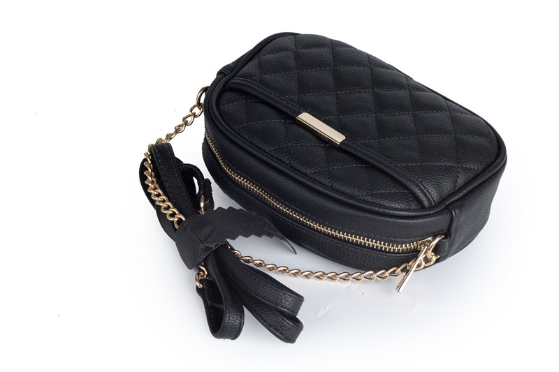 TOYOOSKY Fashion Crossbody Bags for Women 2019 High Capacity Small Shoulder Bag Quilted Plaid PU Leather Women Messenger Bags in Shoulder Bags from Luggage Bags