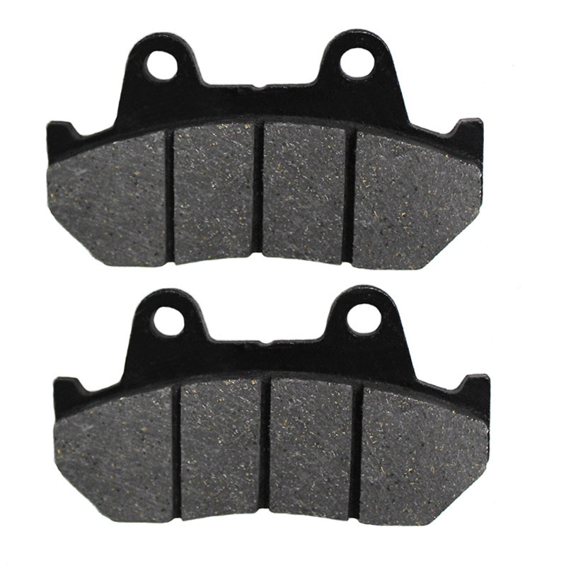 Motorcycle Front + Rear Brake Pads Disks for Yamaha MT-03 MT03 (<font><b>660cc</b></font>) (06-12) LT199-199-208 image
