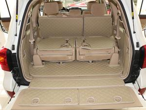 CHOWTOTO Custom Special Trunk Mats For Lexus LX 570 7seats Waterproof Boot Carpet For Lexus LX570 Lagguge Pad